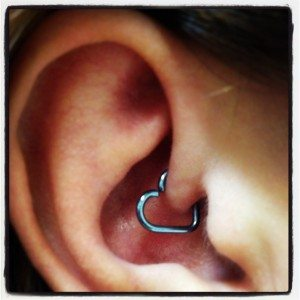 Daith Piercing cures Migraines at Elite Ink Tattoo Studios