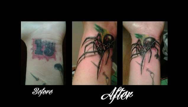 Tattoo Cover-Up Solutions at Elite Ink - Professional Tattoos ...